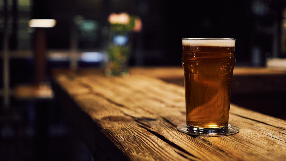 Bier enthält Polyphenole