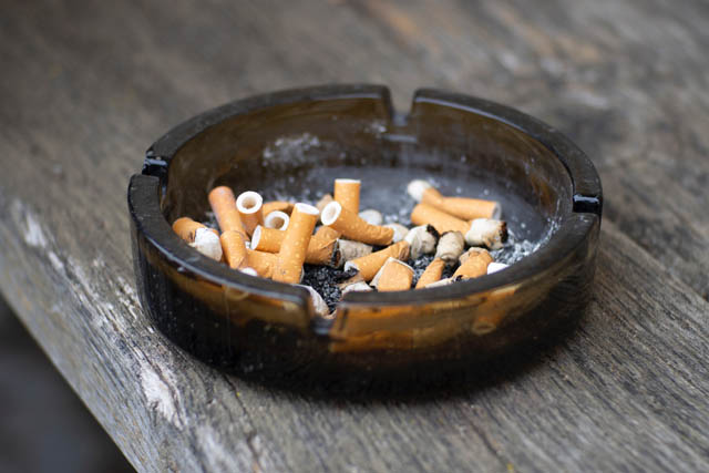 Rauchen ist ein Risikofaktor für Herz-Kreislauf-Erkrankungen