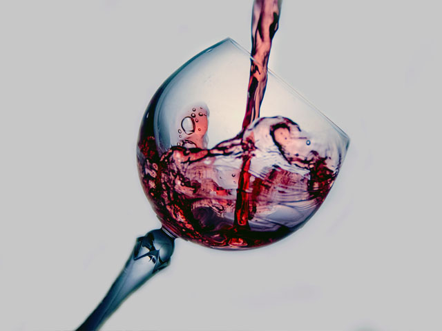 Auch Rotwein enthält Polyphenole