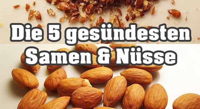Die 5 gesündesten Samen & Nüsse