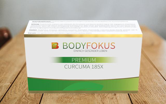 BodyFokus Premium Curcuma 185X Erfahrungen