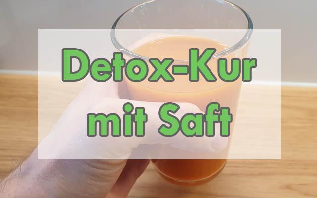 Detox-Kur mit Saft