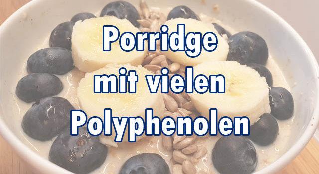 Porridge mit Polyphenolen